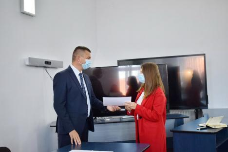 Zeciştii Bihorului, premiaţi pentru performanţă, la Inspectoratul Şcolar Judeţean (FOTO)