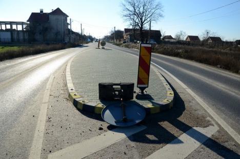 Veşti bune de la CNADNR: Podul Densuşianu va fi finalizat, iar insulele criminale de pe DN 79 modificate!