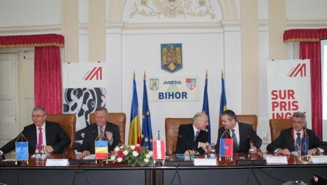 26 de companii austriece şi-au prezentat serviciile în Bihor, în cadrul unei întâlniri organizate de Ambasada Austriei şi CJ (FOTO)
