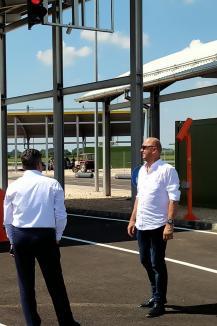 Vamă pentru autostrăzi: Noul punct de trecere a frontierei Borş II va fi deschis în septembrie (FOTO)