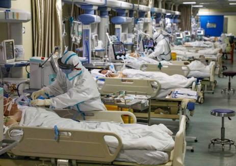 Încă 12 decese provocate de Covid-19, în România. Printre victime, o tânără de 27 de ani, infectată în spital