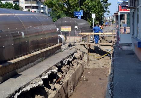 Avarie cu modernizare: 15 străzi din Rogerius rămân două săptămâni fără apă caldă