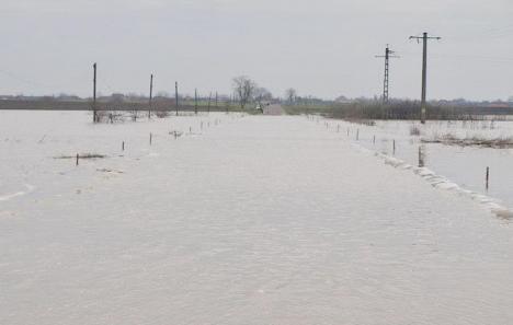Cod galben de inundaţii pe râurile din Bihor