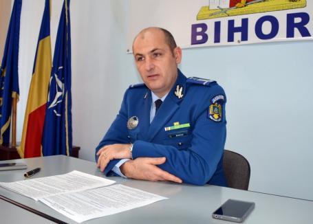 Jandarmeria Bihor la bilanţ: Mai multe misiuni, dar mult mai puţine investiţii