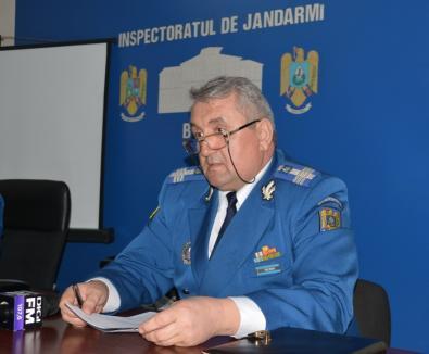 Jandarmeria Bihor la bilanţ: Mai multe misiuni, în continuare prea puţine autovehicule