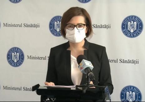 Orădeanca Ioana Mihăilă, bilanţ şi avertismente la plecarea din funcţia de ministru al Sănătăţii (VIDEO)