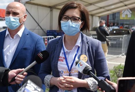 Ministrul Sănătăţii, orădeanca Ioana Mihăilă: 'Valul patru va fi al nevaccinaţilor'