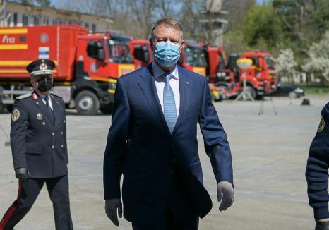 Klaus Iohannis a prelungit starea de urgenţă în România: 'Staţi acasă pentru a nu ajunge pe un pat de spital' (VIDEO)