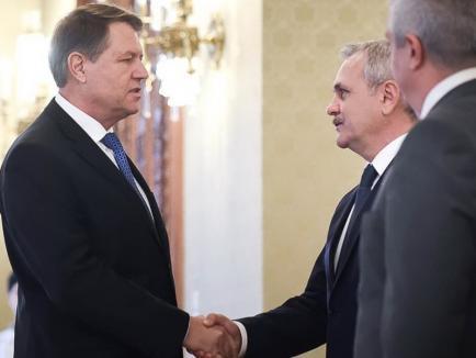 """Preşedintele Iohannis cere din nou demisia Vioricăi Dăncilă: """"Dragnea şi ai lui nu fac faţă guvernării"""""""