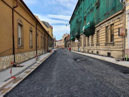 Restricţiile de circulaţie în zona centrală a Oradiei, prelungite până în ultima săptămână a lunii aprilie