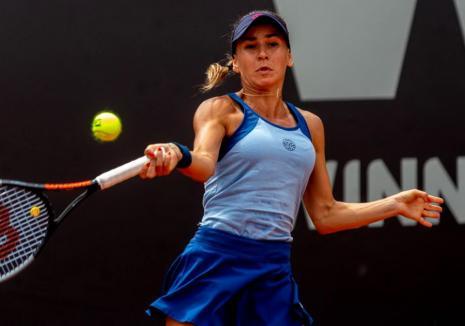 Irina Bara s-a oprit în optimile de finală ale turneului Winners Open de la Cluj-Napoca