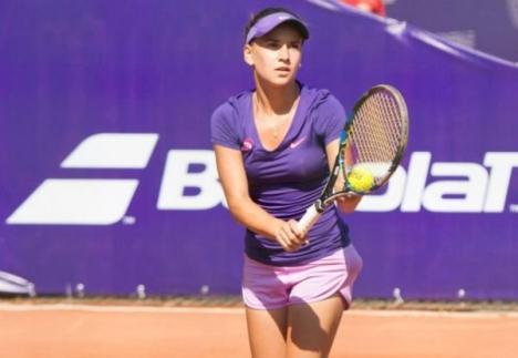 Bihoreanca Irina Bara, în sferturile probei de dublu la Shenzen