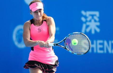 Irina Bara, în semifinalele probei de dublu a turneului 'Hungarian Ladies Open' de la Budapesta!