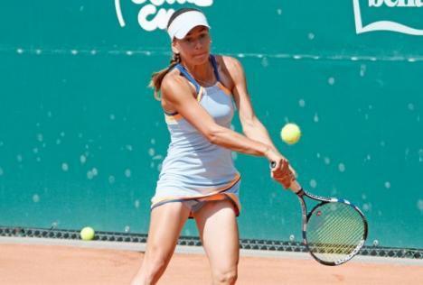 Irina Bara a disputat finala probei de dublu a turneului de la Saint-Malo
