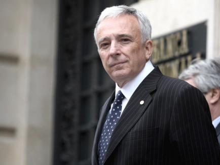 Guvernatorul BNR, Mugur Isărescu,a colaborat cu Securitatea, spune CNSAS