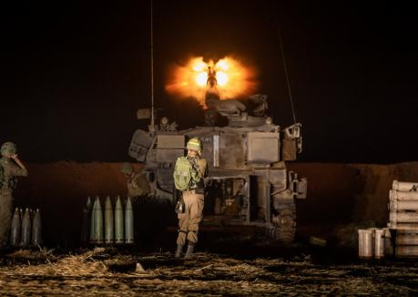 Conflict sângeros între israelieni şi palestinienii din Fâşia Gaza (VIDEO)
