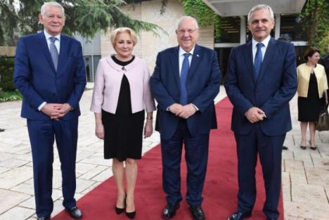 Iohannis, despre ciudata vizită a lui Dragnea şi Dăncilă în Israel: 'Cine ştie ce înţelegeri secrete face Dragnea cu evreii'