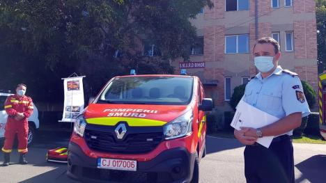 Dotări pentru pompieri: ISU Crişana are ambulanţe noi pentru descarcerare, dar şi un rezervor mobil de 7.000 de litri, unic în ţară (FOTO / VIDEO)