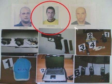 Un italian evadat din arest la domiciliu după un jaf armat de 1,5 milioane de euro s-a predat la Oradea