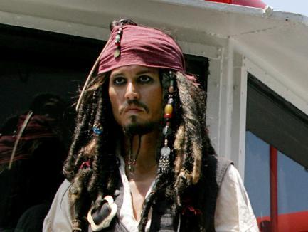 Johnny Depp, circa 38 de milioane de dolari pentru 'Piraţii din Caraibe 4'