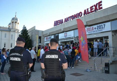 Jandarmii bihoreni intră în sezonul sportiv: Pregătiri pentru misiunile la meciuri