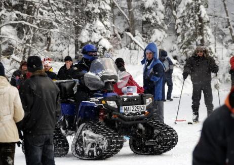 Jandarmii avertizează: Nu vă aventuraţi pe munte iarna şi ţineţi cont că unele drumuri se închid