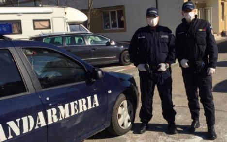Şocant: Un jandarm s-a împuşcat în cap, în timp ce păzea un centru de carantină