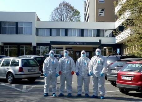 Situaţia Covid-19 în Bihor: Peste 50 de pacienţi vindecaţi, 600 de persoane internate la Spitalul Municipal şi la Ceres
