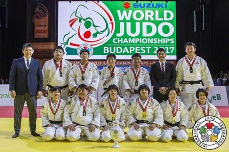 Japonia a dominat Mondialele de judo de la Budapesta