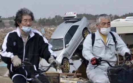Japonia, un model de urmat: Organizaţiile criminale împart alimente şi asigură ordinea