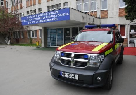 Golani la spital: Doi orădeni s-au luat la pumni în sala de așteptare a Unității de Primire a Urgențelor