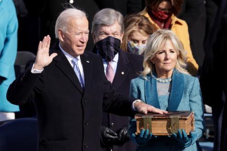 Joe Biden a depus jurământul şi a devenit preşedintele StatelorUnite ale Americii:'Democraţia a triumfat!' (VIDEO)
