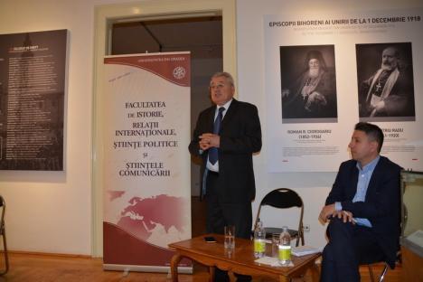 John Mearsheimer, specialist american în relaţii internaţionale, la Oradea: 'Europa se va fragmenta şi mai mult, dacă americanii vor pleca de pe continent' (FOTO/VIDEO)