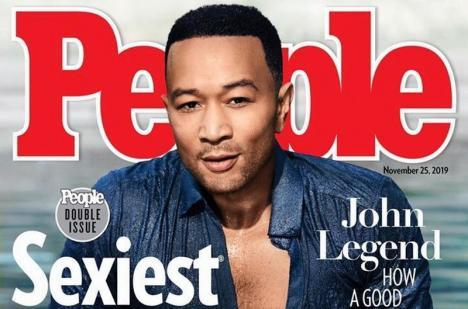 Cântărețul John Legend a fost desemnat cel mai sexy bărbat din lume (FOTO / VIDEO)