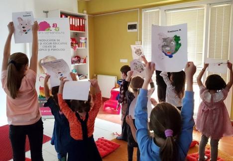 Ateliere de joacă şi învăţare, la Jucării Vorbăreţe