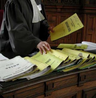 Bilanţ la Tribunalul Bihor: 1007 dosare pe cap de judecător