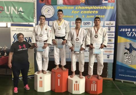 Orădeanul Alex George Creţ a devenit campion balcanic la judo cadeţi