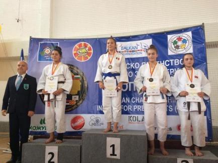 Orădeanca Iasmina Gyoker, campioană balcanică la judo juniori IV (U15) (FOTO)