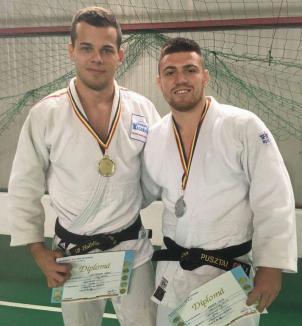 Orădenii Mircea Pop şi Pusztai David au dominat întrecerile categoriei 81 kg de la Campionatul Naţional de Judo al MAI