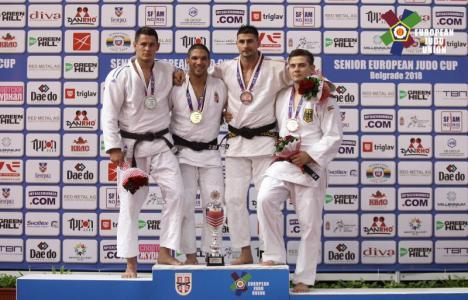 Valentin Radu a cucerit bronzul la Cupa Europeană de Judo de la Belgrad