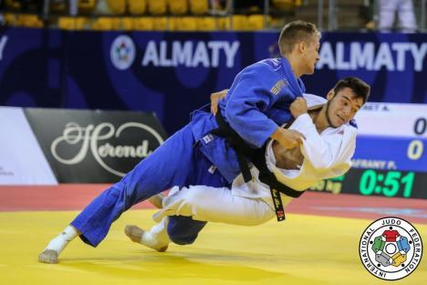 Orădeanul Alex George Creţ a ocupat locul 5 la concursul internaţional de judo Udine Junior European Cup 2021