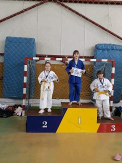 Orădenii de la LPS CSS Liberty, printre protagoniștii concursului de judo de la Sântana, din Arad