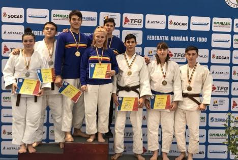Opt medalii pentru judoka de la LPS Bihorul la finala Campionatului Naţional pentru juniori (U21)
