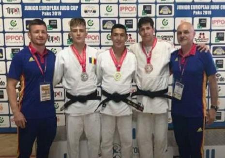 Judoka orădean Adrian Olaru a cucerit medalia de bronz la Cupa Europeană U21 din Ungaria, de la Paks