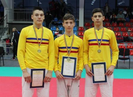 Trei tineri judoka orădeni, convocaţi de FRJ la Centrul Naţional Olimpic de Pregătire a Juniorilor de la Piteşti