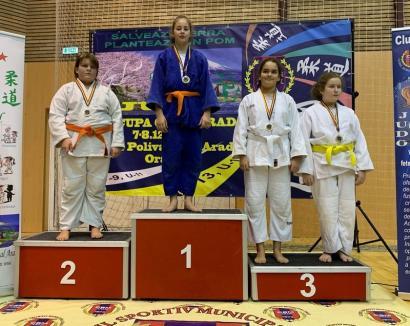 Bravo, copii! Judoka orădeni, printre protagoniștii turneului internațional de la Arad (FOTO)