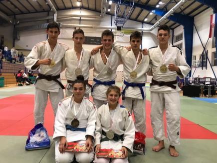 Orădenii şi-au adjudecat şapte medalii la etapa din Croaţia a 'Euro Regional Judo League'