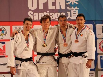 Medalii în Chile și Maroc: Două clasări pe podium pentru judoka de la Centrul Olimpic din Oradea