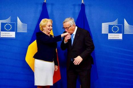 Juncker, atac dur la Dăncilă: 'Guvernul de la Bucureşti nu a înţeles ce înseamnă să prezidezi ţările UE'