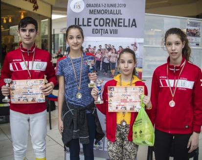 Cinci medalii pentru orădenii de la LPS Bihorul la Memorialul de spadă 'Ille Cornelia'